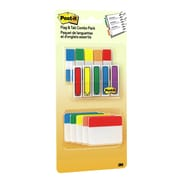 "Post-it® Flags & Tabs Value Pack, Assorted Colours, 200 - 1/2"" Flags, 30 - 2"" Solid Tabs, 230/Pack"