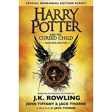 Harry Potter and the Cursed Child Parts 1 & 2, Special Rehearsal Edition Script by J.K. Rowling, anglais
