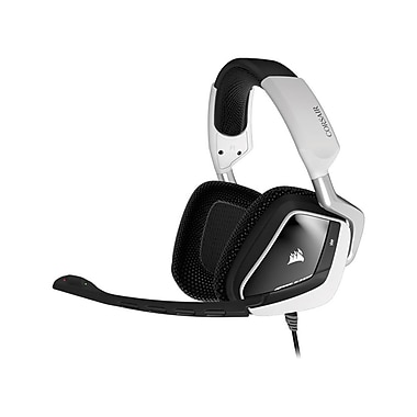 Corsair VOID RGB USB Dolby 7.1 Gaming Headset, White (5542620)
