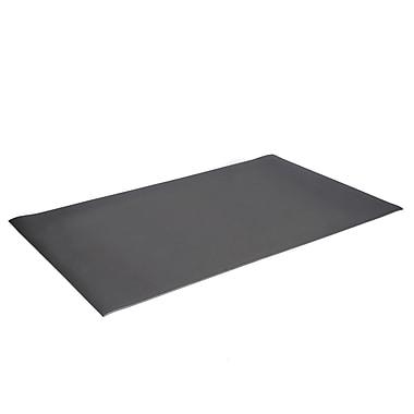 Floortex— Tapis de porte avec brosse et grattoir, 24 x 36 po, gris