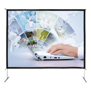 Hamilton Buhl™ BFF-120160 Quick Release Video Projector Screen, 200""