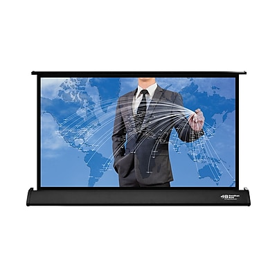 Hamilton Buhl™ DT3016 Pull Up Tabletop HDTV Projector Screen, 30