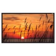 "Hamilton Buhl™ FF-120-M Fixed Frame HDTV Projector Screen, 120"""