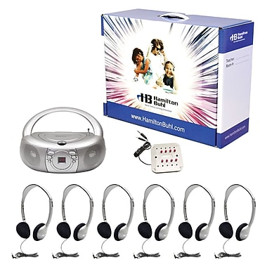 Hamilton Buhl™ LCB/30/6-HA2 Basic CD/AM/FM Listening Center for 6 User