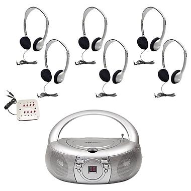 Hamilton Buhl™ WNC/30/HA2 Basic CD/AM/FM Listening Center for 6 User