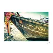 Novica Ko Phi Phi Vintage Style Color on Foam Core by Santiago Arias Photographic Print
