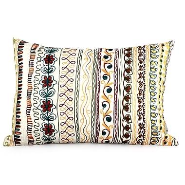 Novica Mod Garden Pillow Cover