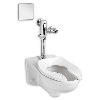 American Standard Afwall 1.1 GPF Elongated One-Piece Toilet