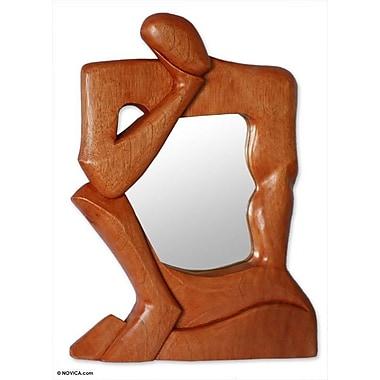 Novica Life Reflections Cedar Mirror