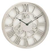 Urban Designs 18'' Gear Wheel Aluminum Wall Clock