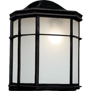 TransGlobe Lighting 1-Light Outdoor Flush Mount; Black Copper