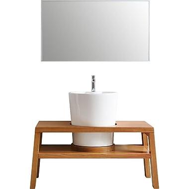 Vinnova Lecce 47'' Single Vanity Set w/ Mirror