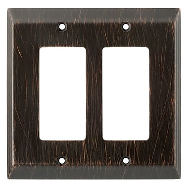 Franklin Brass Stately Double Decorator Wall Plate