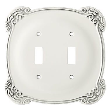 Franklin Brass Arboresque Double Switch Wall Plate