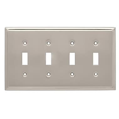 Franklin Brass Country Fair Quad Switch Wall Plate