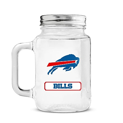 DuckHouse NFL Mason Jar; Buffalo Bills WYF078279244309