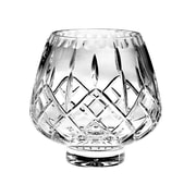 Majestic Crystal Plaza 6'' Crystal Footed Rose Bowl