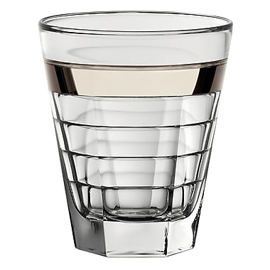 Majestic Crystal Glass Double Old Fashioned Tumbler (Set of 6)