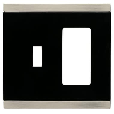 Franklin Brass Basic Stripe Single Switch/Decorator Wall Plate
