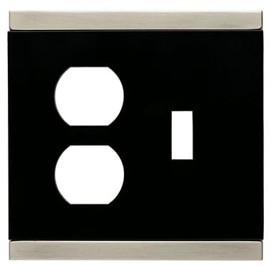 Franklin Brass Basic Stripe Single Switch/Duplex Wall Plate
