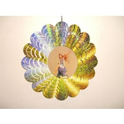 GreatWorldCompany Fairy Metal Painted Spinner