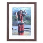 Novica Happy Wa Girl Color on Kodak Digital Photo Paper by Akha Jim Framed Photographic Print