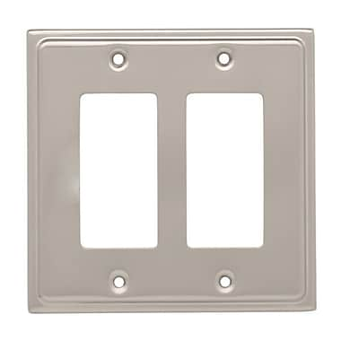 Franklin Brass Country Fair Double Decorator Wall Plate