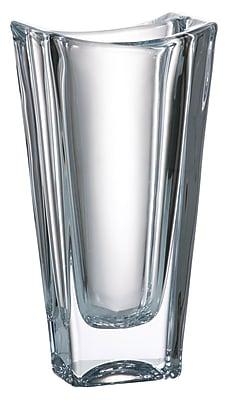 Majestic Crystal Crystalline Vase; 11.8'' H x 5.5'' W x 3.2'' D WYF078279255632