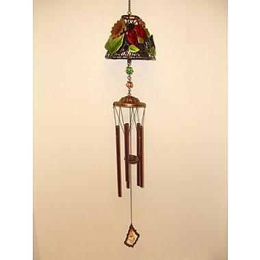 GreatWorldCompany Ladybug Lamp Shade Metal Wind Chime