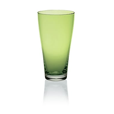 Majestic Crystal Nadia 16 Oz. Juice Glass (Set of 6); Green