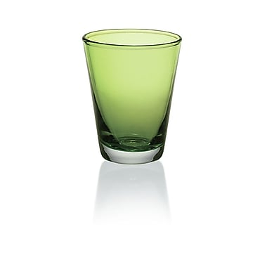 Majestic Crystal Nadia 8.6 Oz. Water Glass (Set of 6); Green