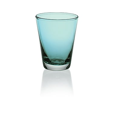 Majestic Crystal Nadia 8.6 Oz. Water Glass (Set of 6); Turquoise