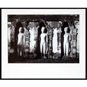 Novica Chamathevi Temple  on Kodak Professional Paper by Chavanond Photographic Print in Black/White