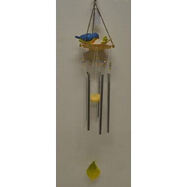 GreatWorldCompany Bird Water Fountain Poly Wind Chime
