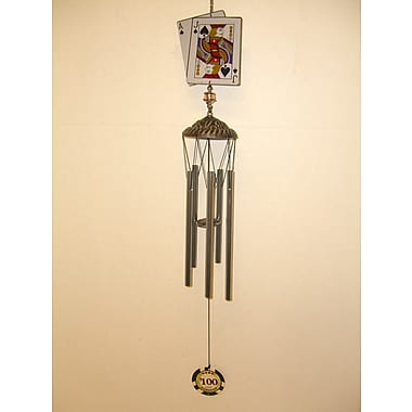 GreatWorldCompany Poker Card Souvenir Wind Chime