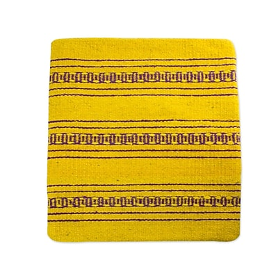 Novica Zapotec Energy Hand Crafted Wool Pillow Cover