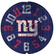 Imperial NFL 16'' Vintage Wall Clock; New York Giants
