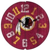 Imperial NFL 16'' Vintage Wall Clock; Washington Redskins