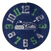 Imperial NFL 16'' Vintage Wall Clock; Seattle Seahawks