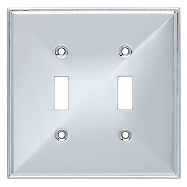 Franklin Brass Beverly Double Switch Wall Plate