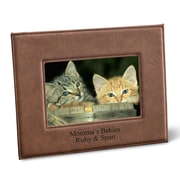 JDS Personalized Gifts Personalized Picture Frame; Dark Brown