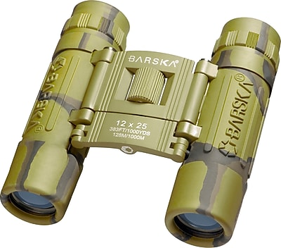 Barska 12x25 Lucid View Binoculars Camo (AB11361)