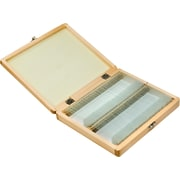Barska Prepared Microscope Slides 100pcs With Wood case (AF11944)