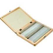 Barska Prepared Microscope Slides 100pcs With Wood case (AF11944)