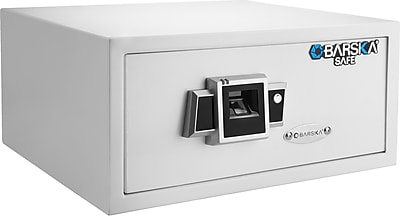 Barska Biometric Fingerprint Safe - White (Ax12404)