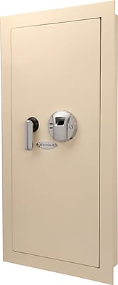 Barska Large Biometric Wall Safe - Cream (Ax12408)