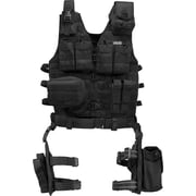 Barska Loaded Gear Vx-100 Tactical Vest & Leg Platform (BI12016)