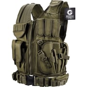 Barska Loaded Gear Vx-200 Tactical Right Hand Vest OD Green (BI12332)