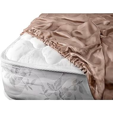 Barska Aus Vio 100% Silk Fitted Sheet Cal King Pebble (BM12094)