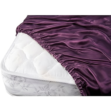 Barska Aus Vio 100% Silk Fitted Sheet Queen Iris (BM12102)